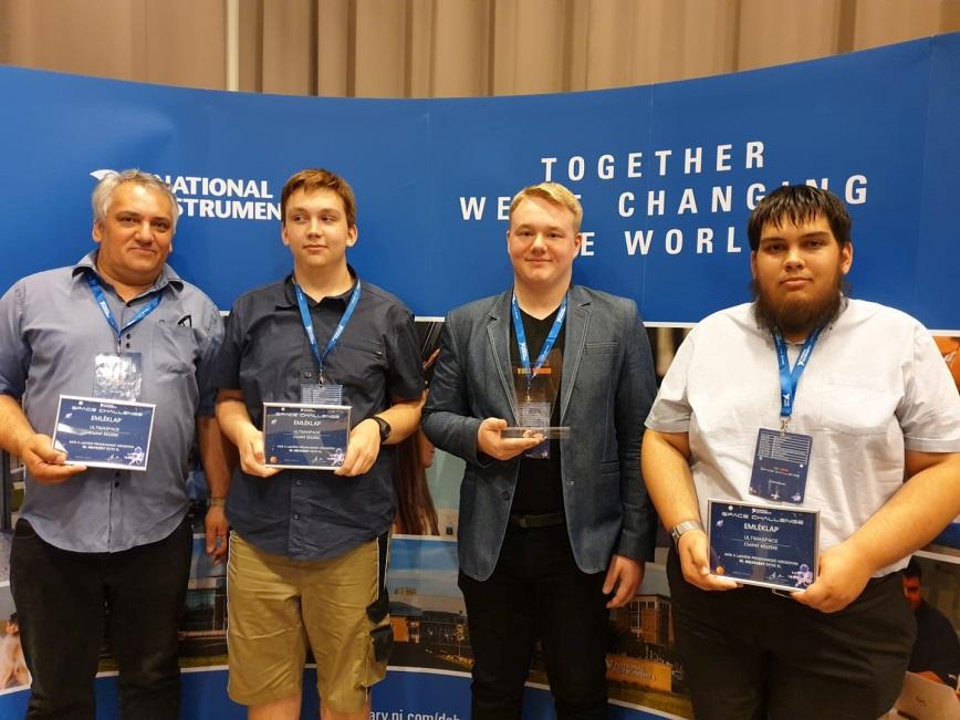 III. helyezést ért el Csapatunk a LabVIEW programozó versenyen