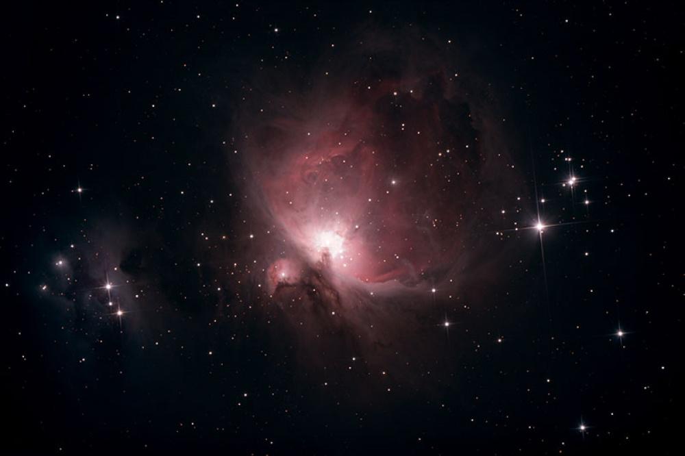 Az Orion-köd fotografikus megfigyelése
